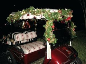 Golf Cart Christmas Light Tour @ Member's Sites