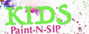 (2)Kids Paint N Sip @ CH 2