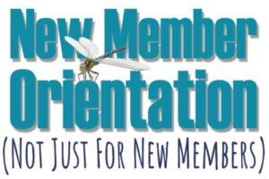 (1)New Member Orientation @ CH 1